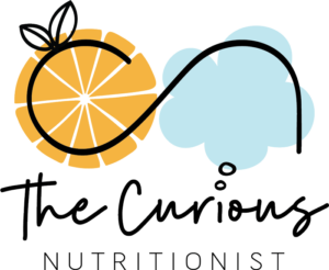 The Curious Nutritionist - Logo Footer